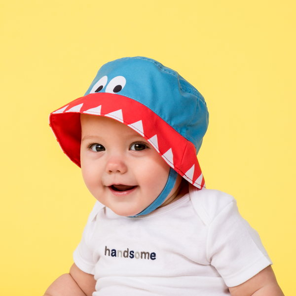 child with infant boy hats