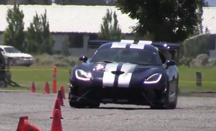 June Viper Autocross