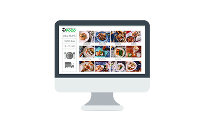 healthy Meal delivery service menu