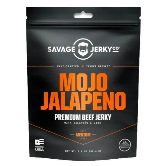 Savage Jerky Co. Mojo Jalapeno Beef Jerky