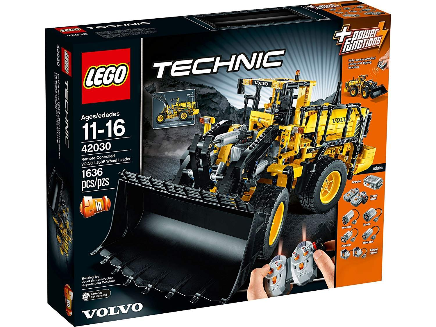 LEGO 42030: Volvo L350F Wheel loader