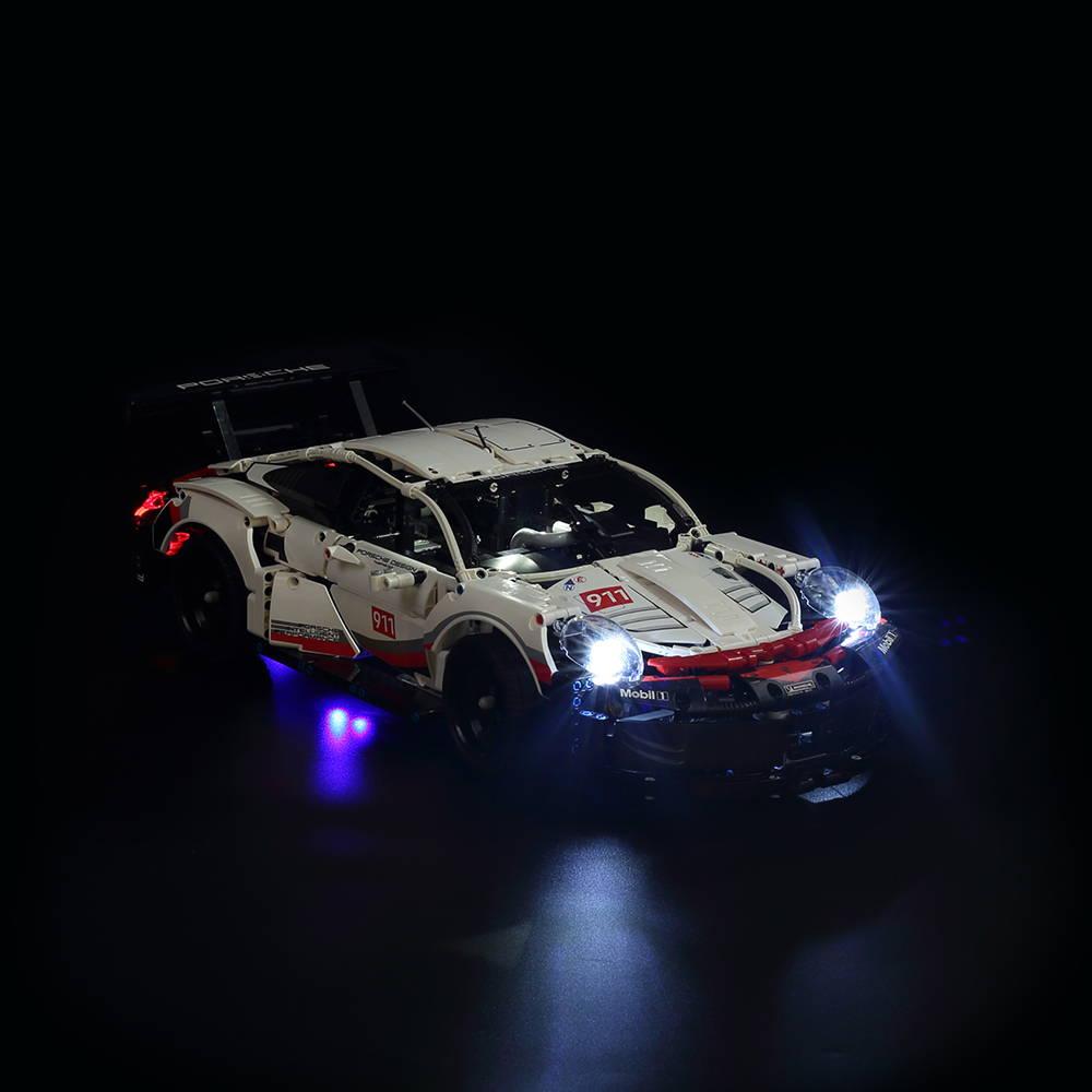 LEGO Porsche 911 RSR 42096 Light Kit