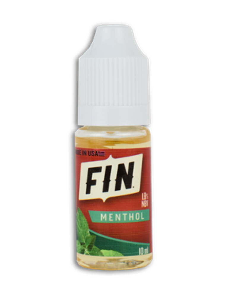 FIN E-Liquid 10ML Bottle Menthol
