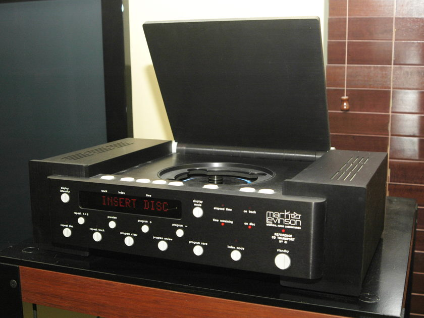 Mark Levinson 31 Transport state of the art