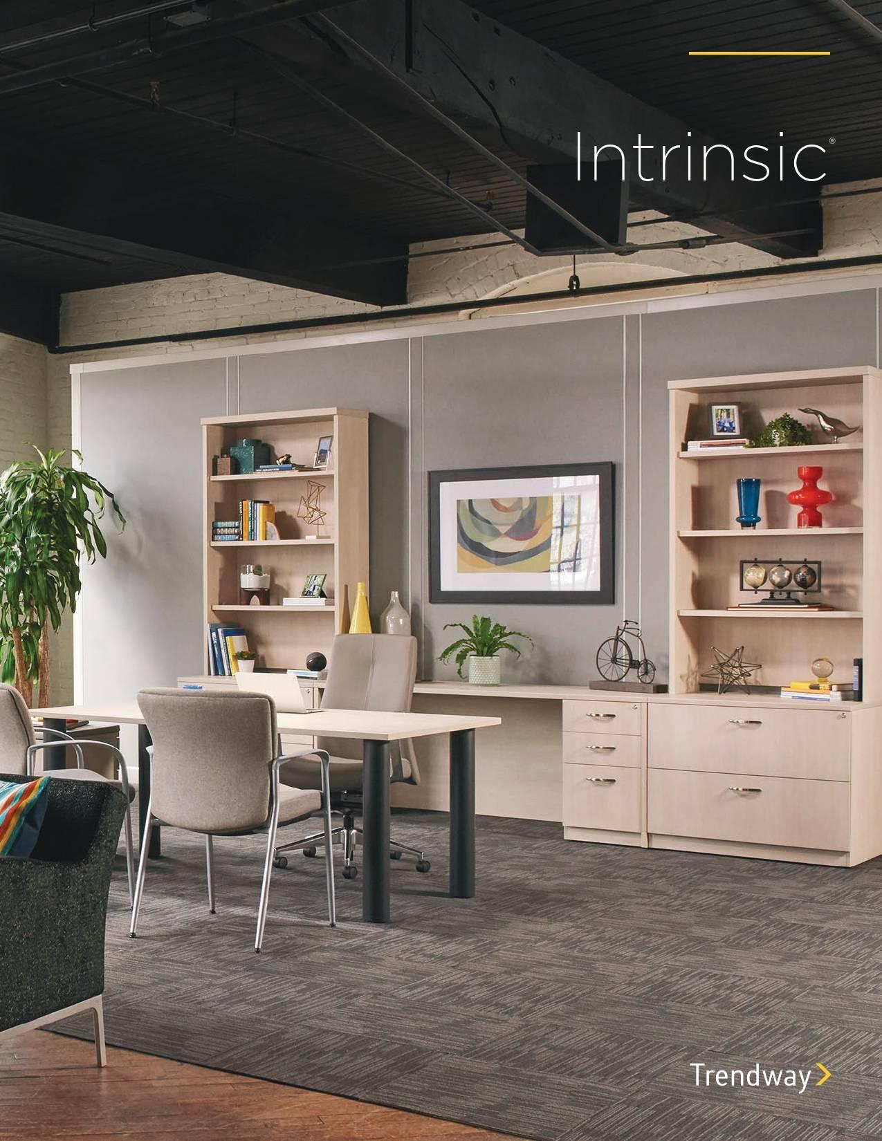 Trendway Furniture Intrinsic Casegoods Brochure