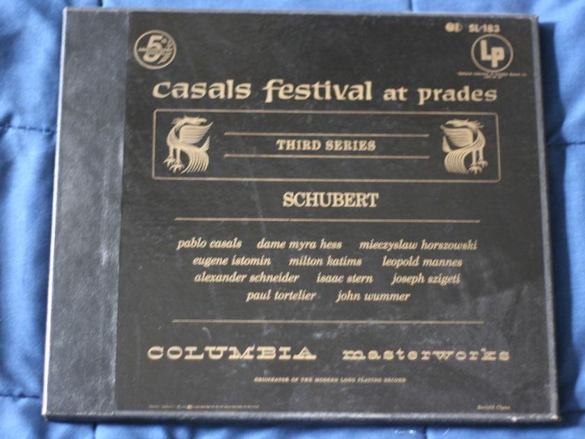 Schubert - Casals Festival at prades SL-183