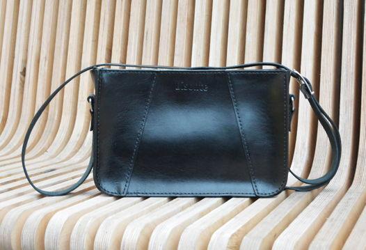 Женская повседневная сумка из кожи