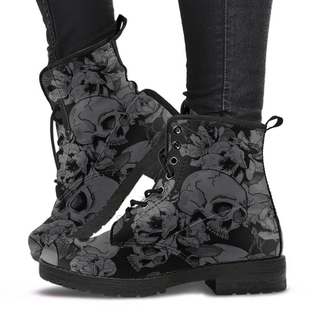 Chaussures tête de mort