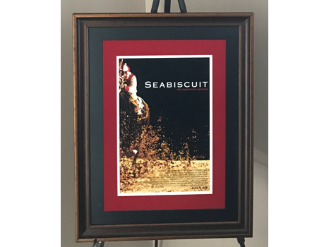 Seabiscuit Movie Promotion Poster