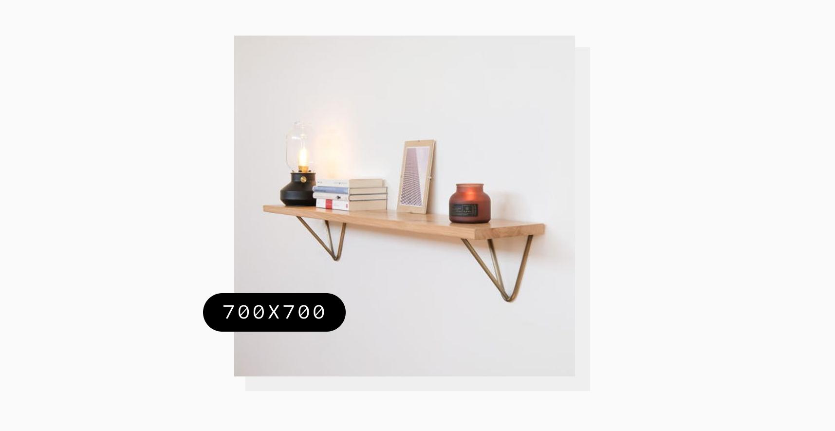 resized photo of a shelf on a wall