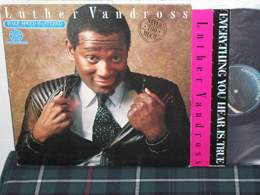 Luther Vandross - Never Too Much Half Speed Mastered