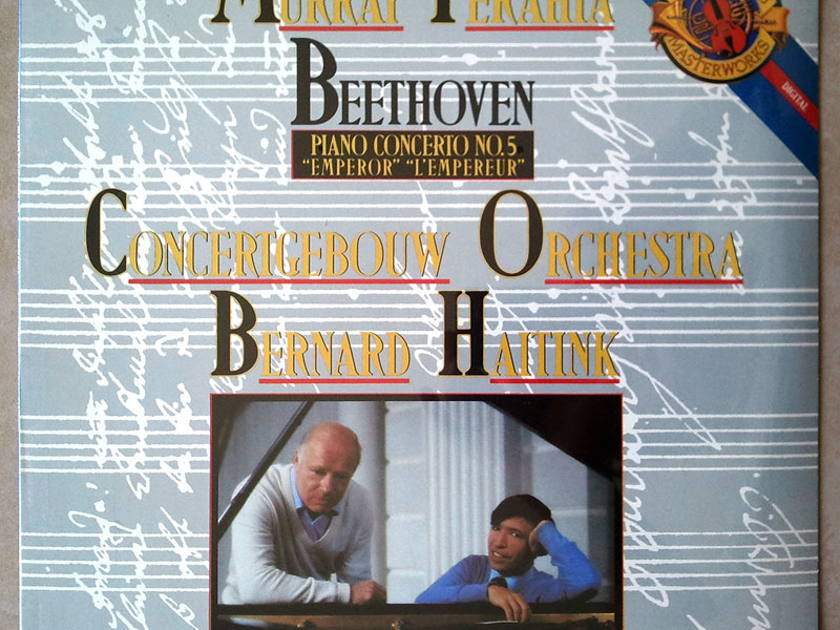 "Sealed CBS Digital | PERAHIA/HAITINK/BEETHOVEN - Piano Concerto No. 5 ""Emperor"""