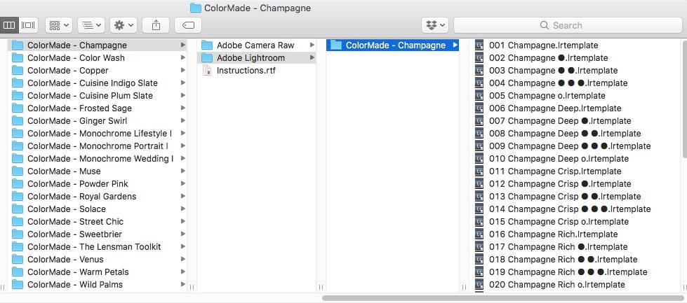 How To Install Photoshop Presets - ColorMade