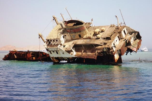 Остров Тиран на яхте