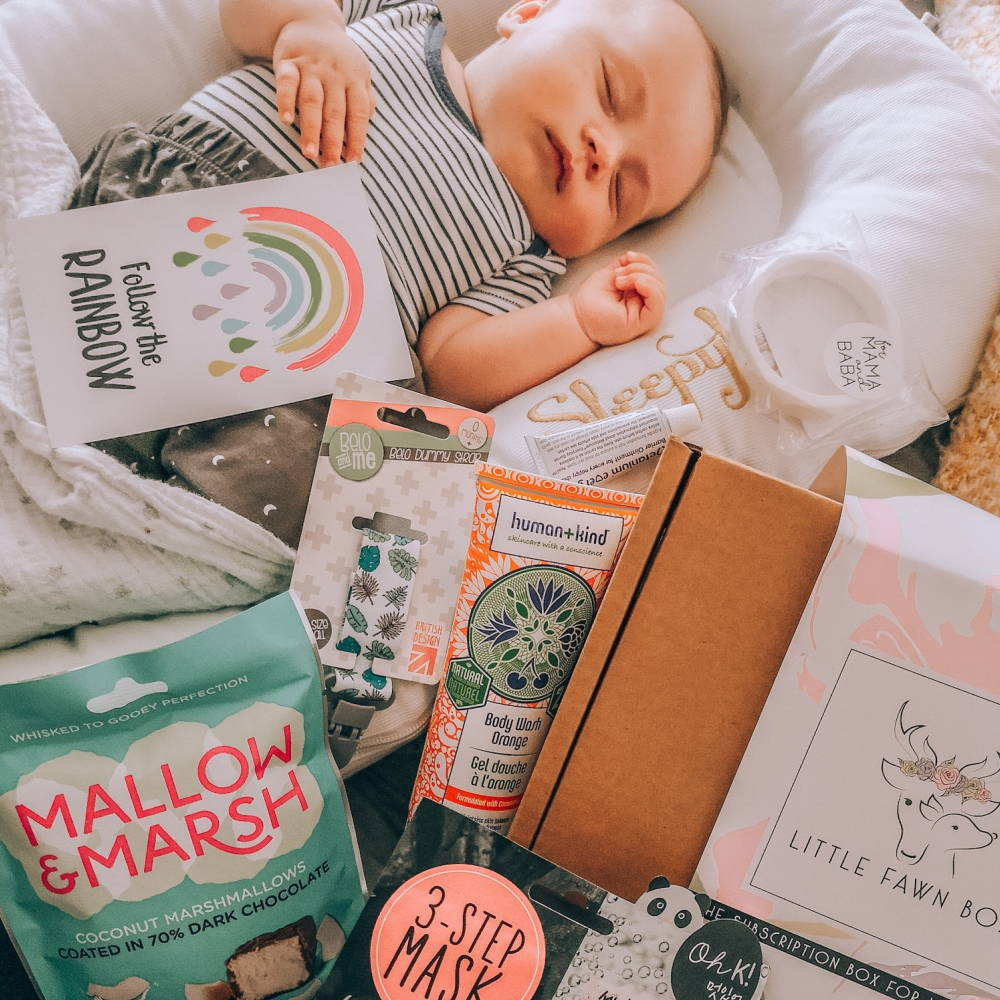 Subscription box for mum and baby