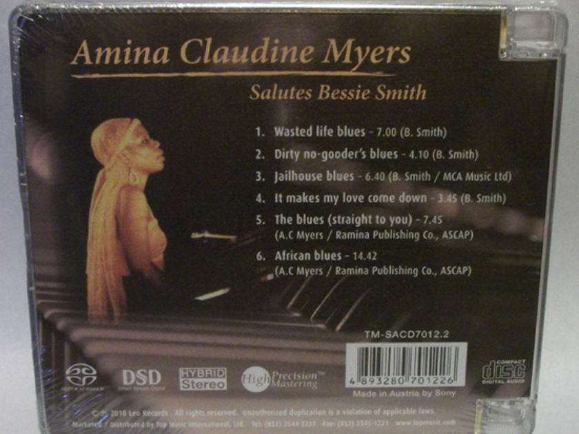 Amina Claudine - Myers Salutes bessie smith, Top Music SACD