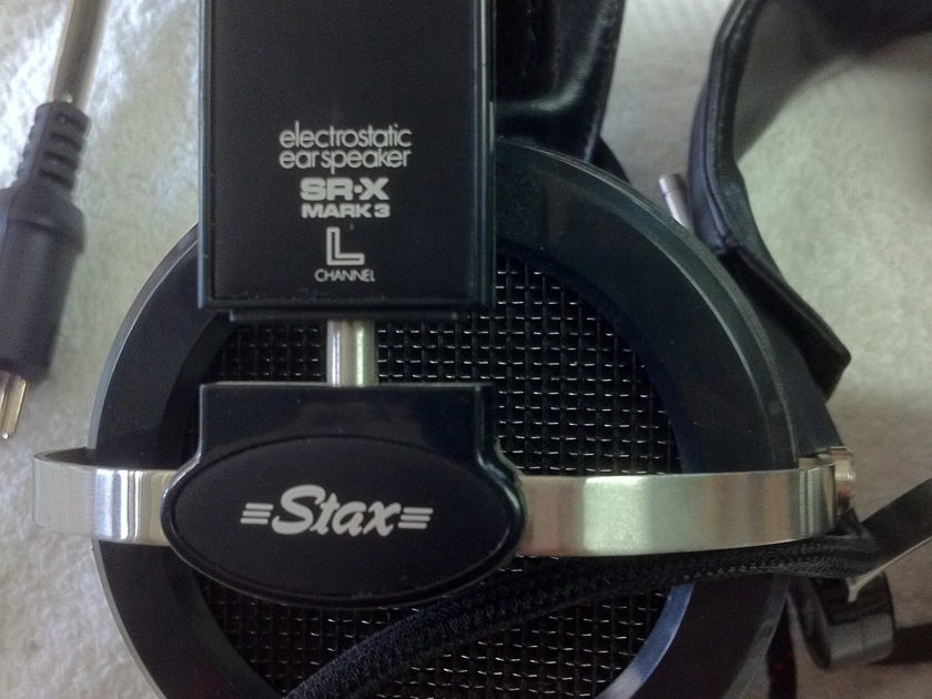 Stax SR-X MK3 electrostatic Headphones 1 for sale