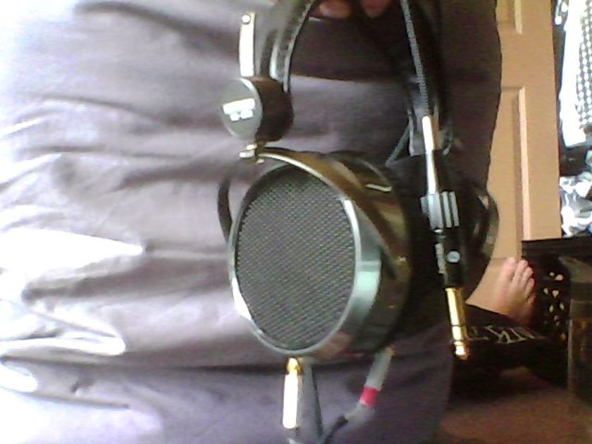 Hifiman he-500 with aftermarket cable