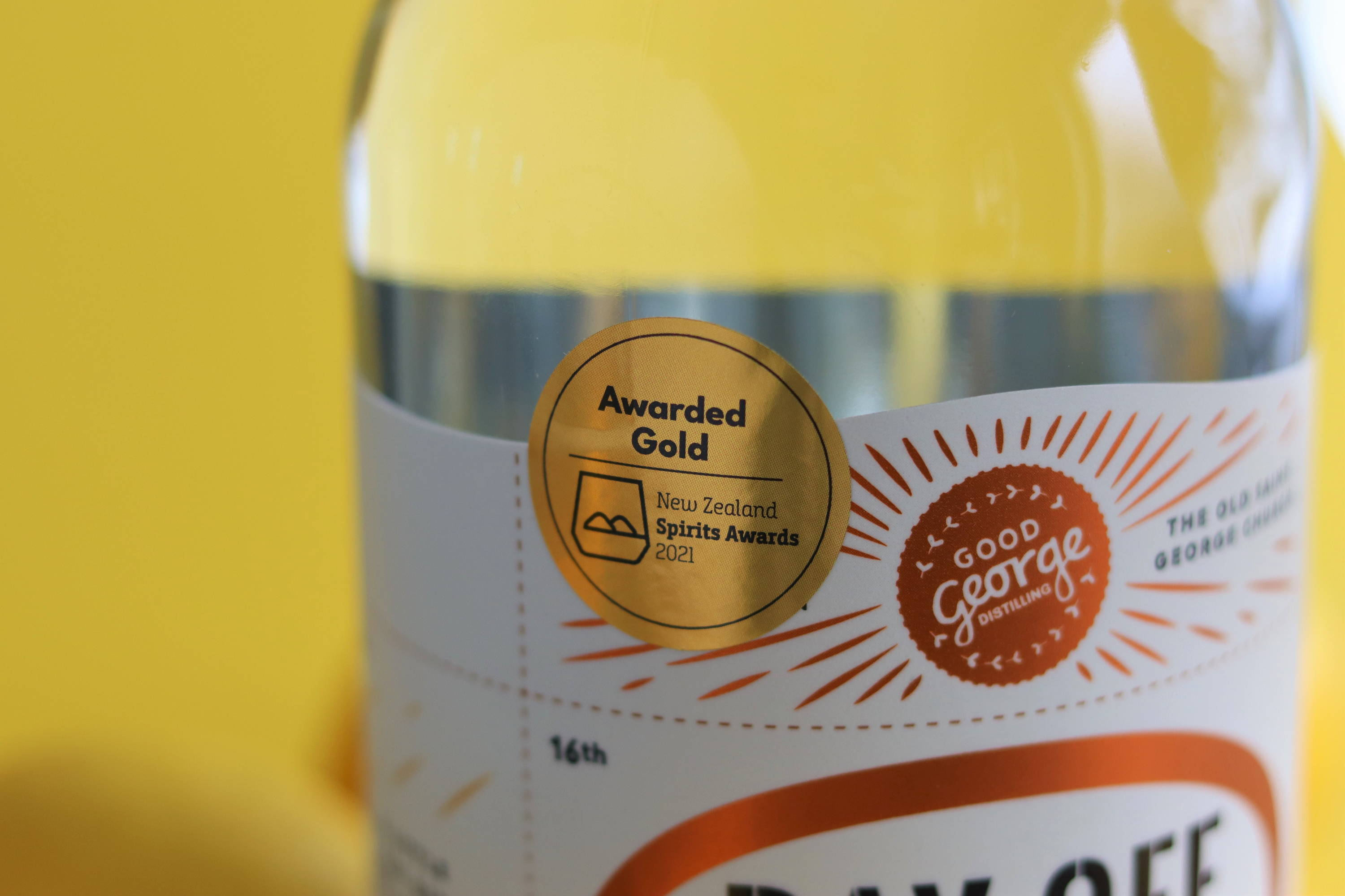 Gold Medal Day Off Gin