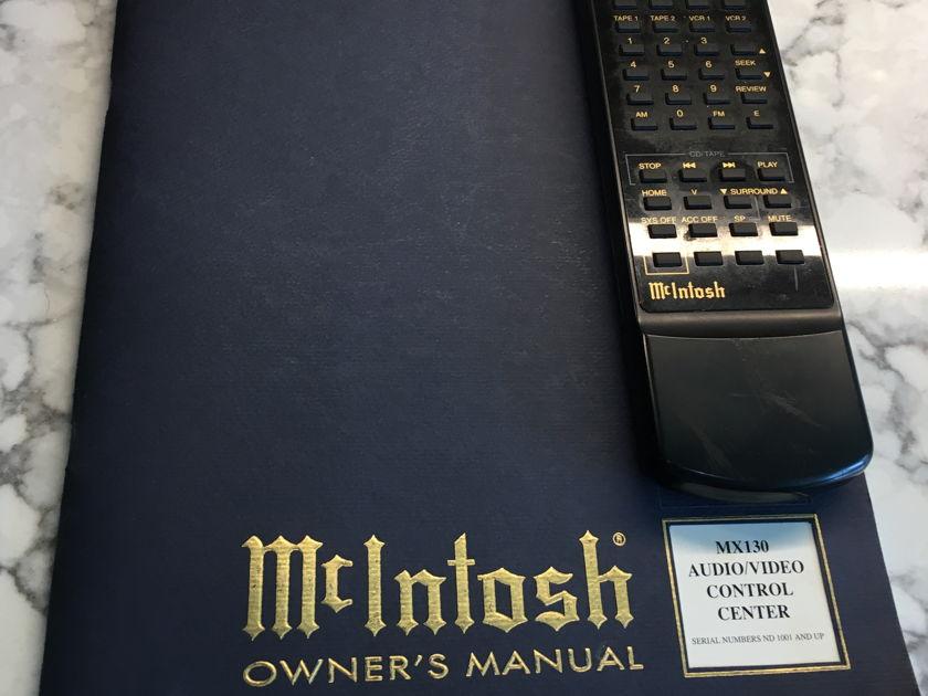 McIntosh MX-130 Fantastic Preamp !!