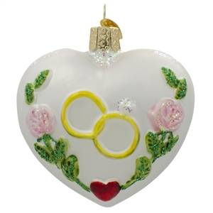 Wedding Christmas Ornaments