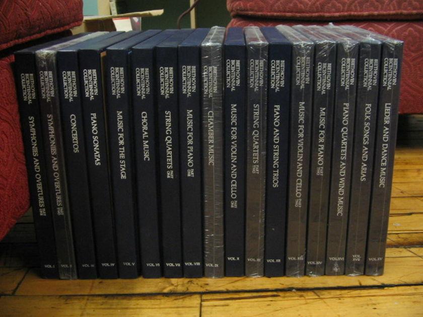 85 LP's BEETHOVEN COMPLETE SEALED NM  - Deutsche Grammophon Gesellschaft Collection DG