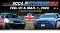 2020 Fresno SCCA Autocross Event 2 and 3