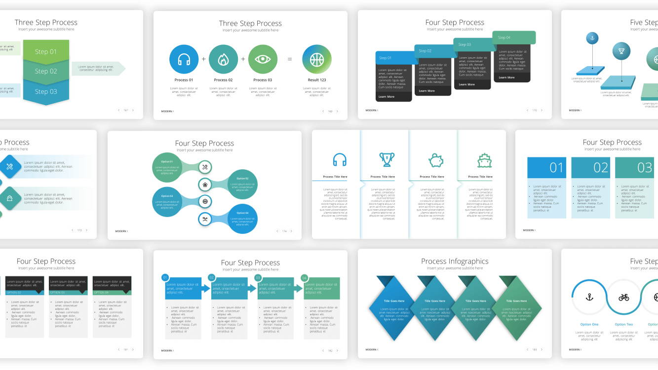 process infographic powerpoint template, infographic powerpoint template, infographic presentation template