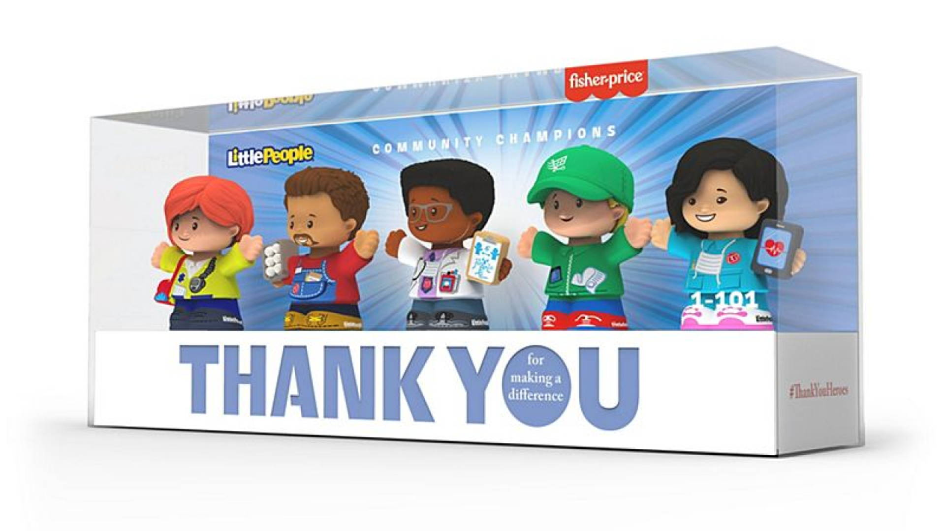 Fisher Price S Latest Toys Honor And Support Coronavirus Heroes Dieline Design Branding Packaging Inspiration