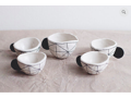 Hand Made Porcelain Tea Set