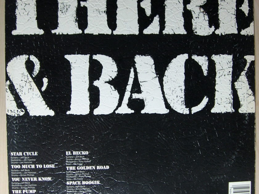 Jeff Beck - There & Back -  1980 Epic PE 35684