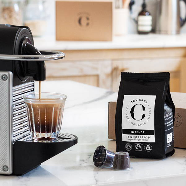 Pixie Nespresso® Machine CRU Kafe Dark Roast