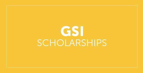 GSI Scholarship button