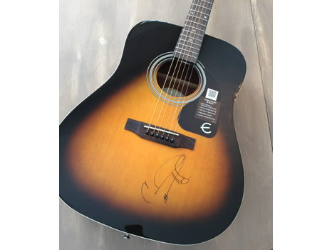 Carrie Underwood Autographed Guitar