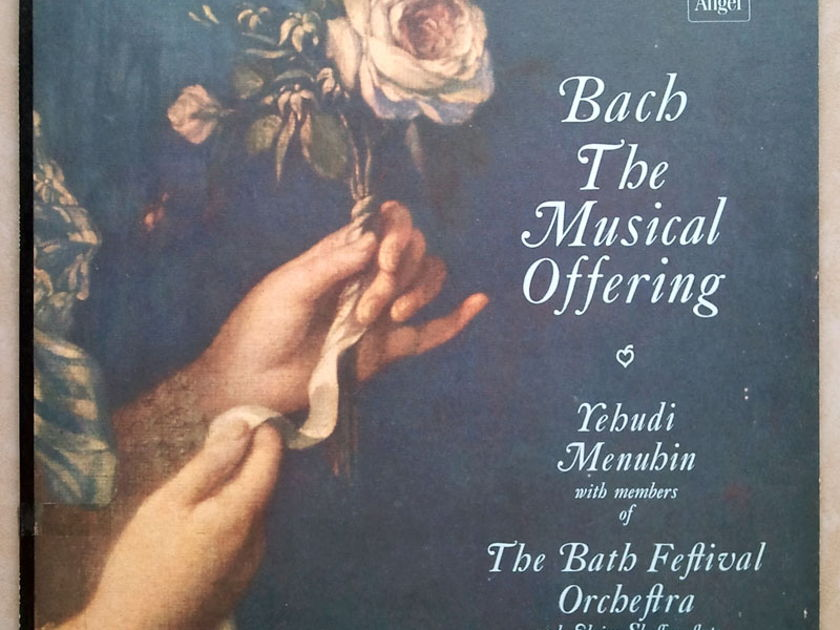 ANGEL BLUE   MENUHIN/BACH - The Musical Offering / NM