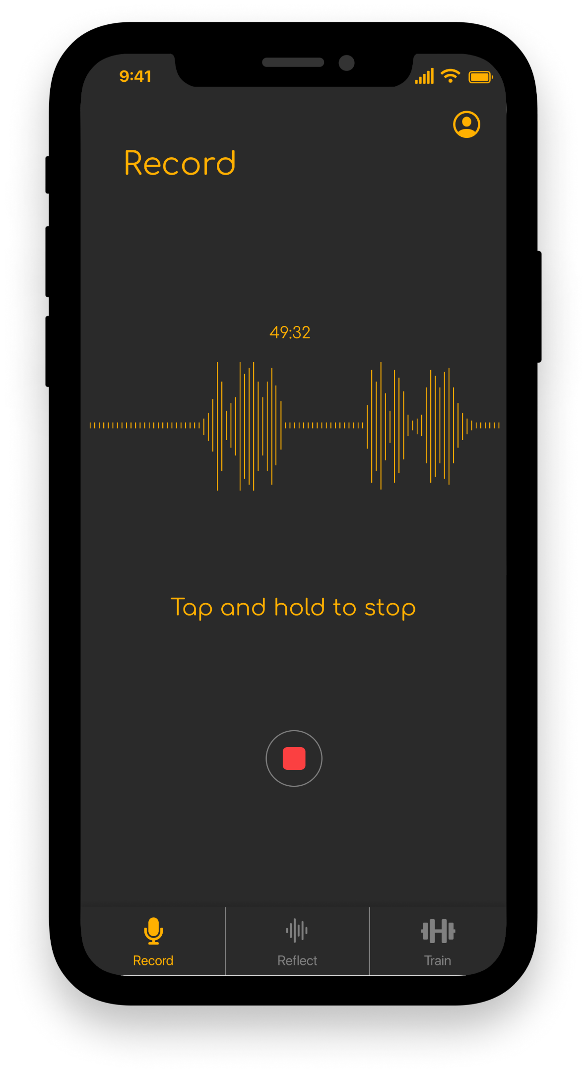 Recording active