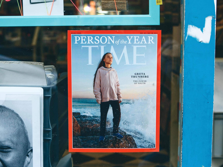 Greta Thunberg Time Magazine