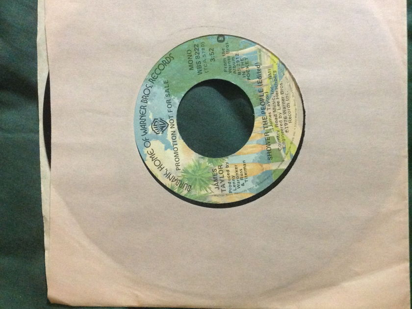 James Taylor - Shower The People Promo Mono/Stereo 45 NM
