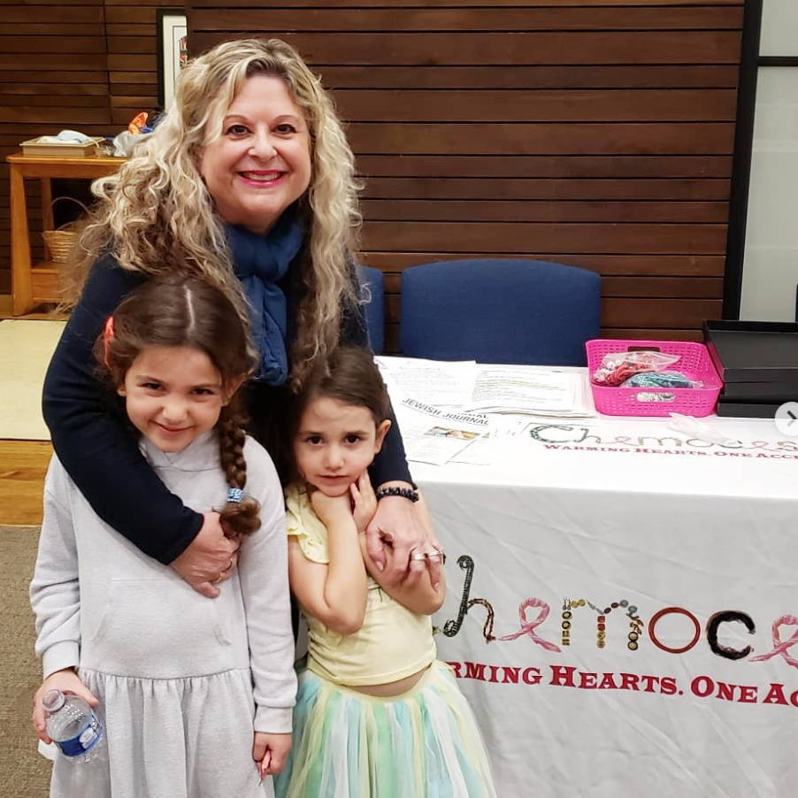 Chemocessories founder at an event