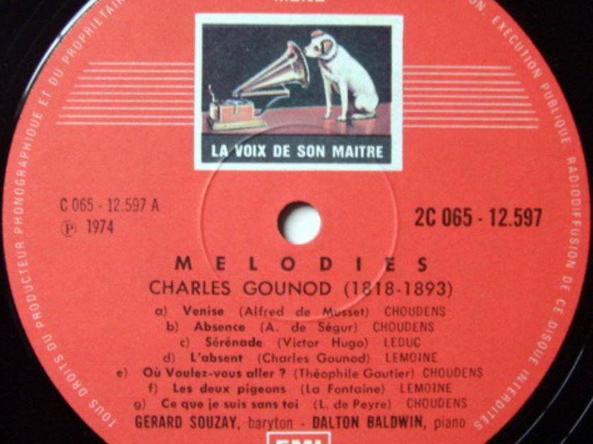 EMI HMV STAMP-DOG/ GERARD SOUZAY-BALDWIN, - Gounod Melodies, MINT!