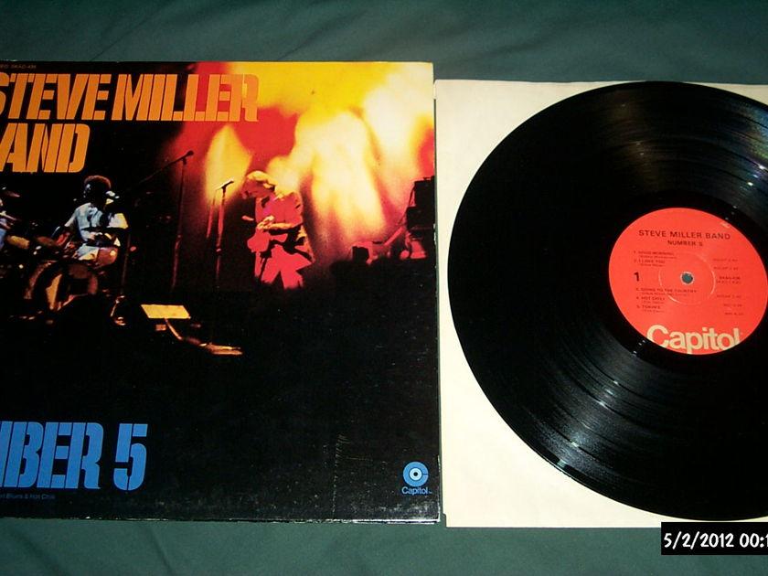 Steve miller band - Number 5 lp nm