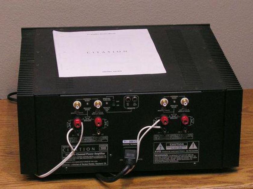 Citation 7.1 4 Channel Power Amp