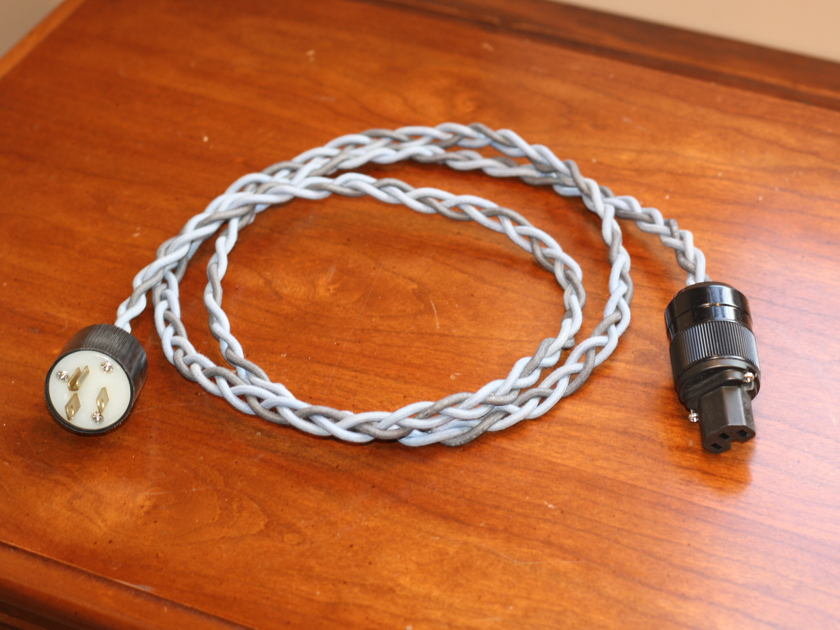 Western Electric NOS Power Cable:  5FT - 15amp Free Shipping