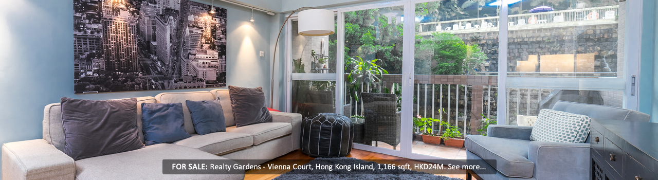 Hong Kong - Realty Gardens - Living Room