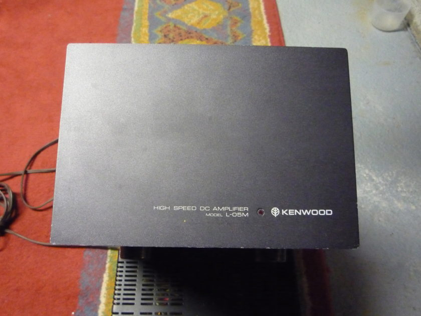 Kenwood L-05M monblocks