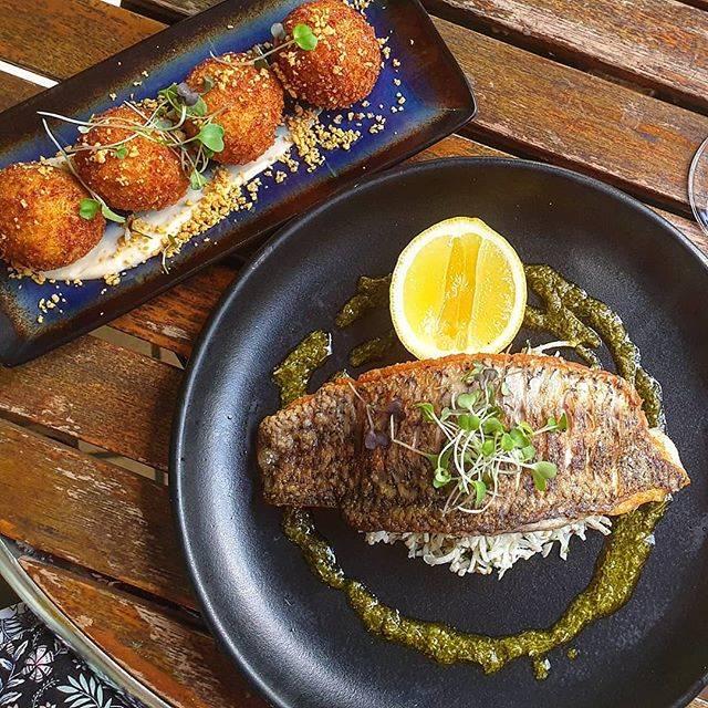 Fish Disk at Blaxland Inn Hunter Valley Restaurant Hunter Valley Winery