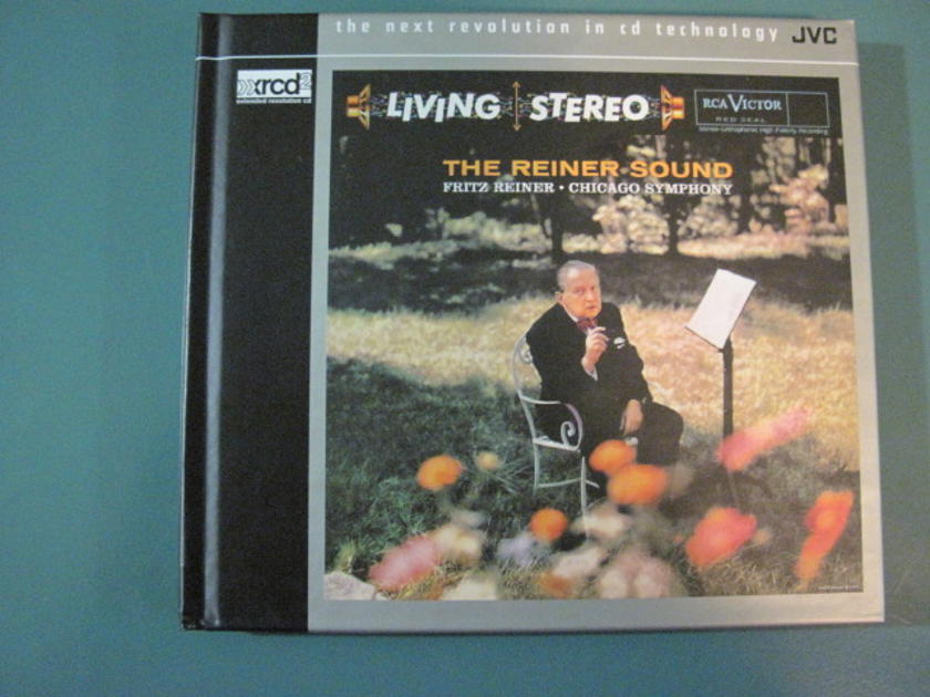 """RCA Living Stereo """"The Reiner Sound"""" - JVC XRCD-2 - Fritz Reiner conducting The Chicago Symphony Orchestra. Like new."""