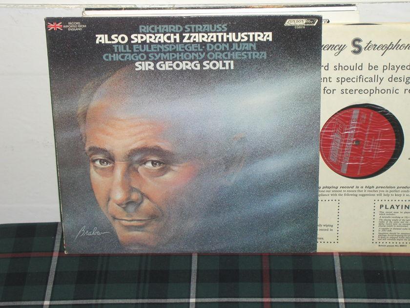 Solti/CSO - R.Strauss Also Sprac London ffrr uk decca cs6978