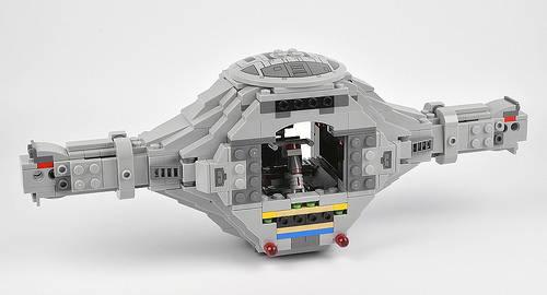 lego 75095 cockpit interior