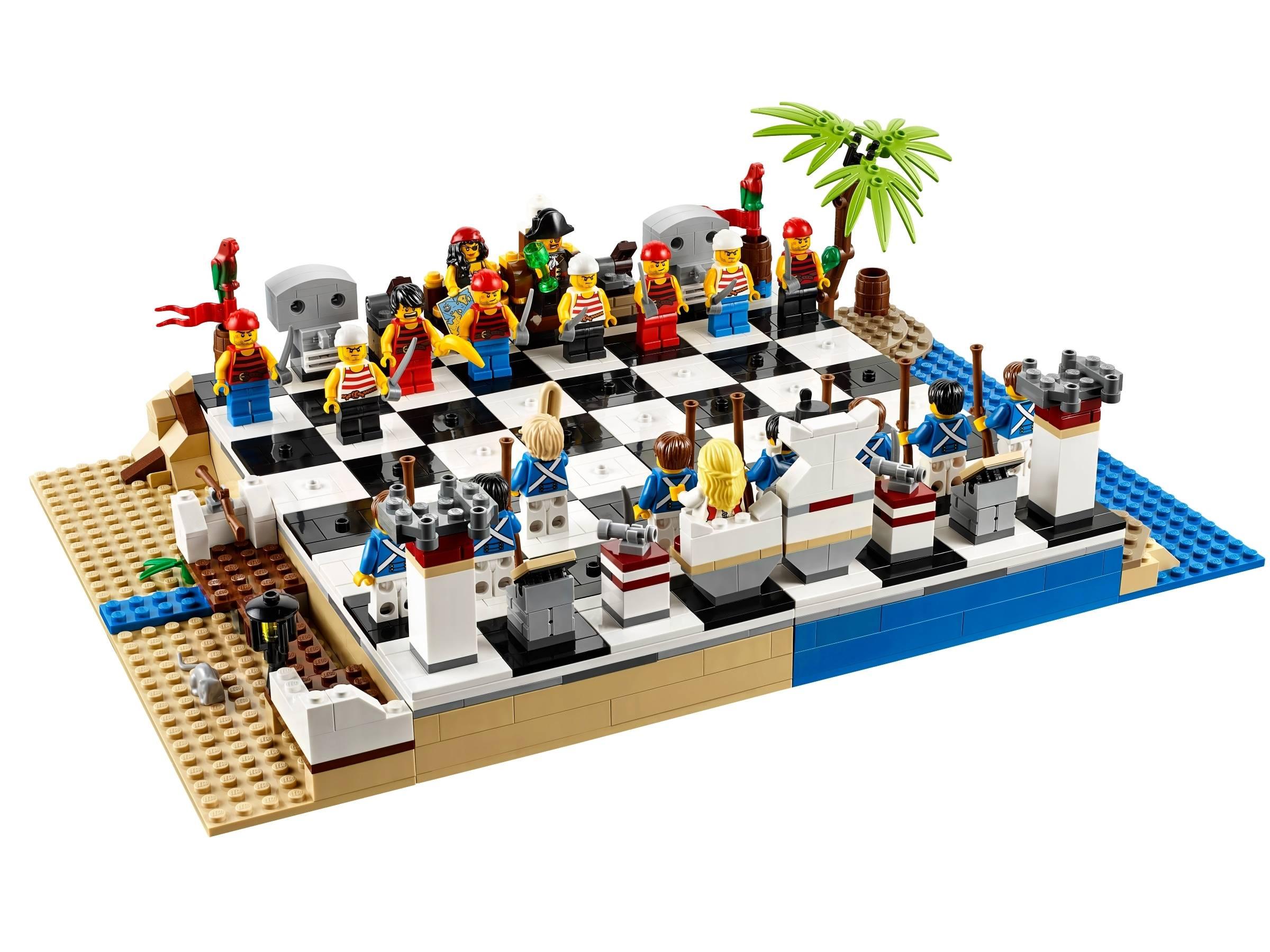 1. LEGO Pirate Chess Set
